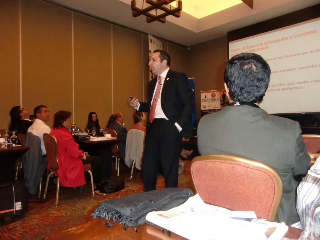 Taller Directivo Coach. Experto en Coaching Jose Miguel Gil Coto. Conferencias en Colombia