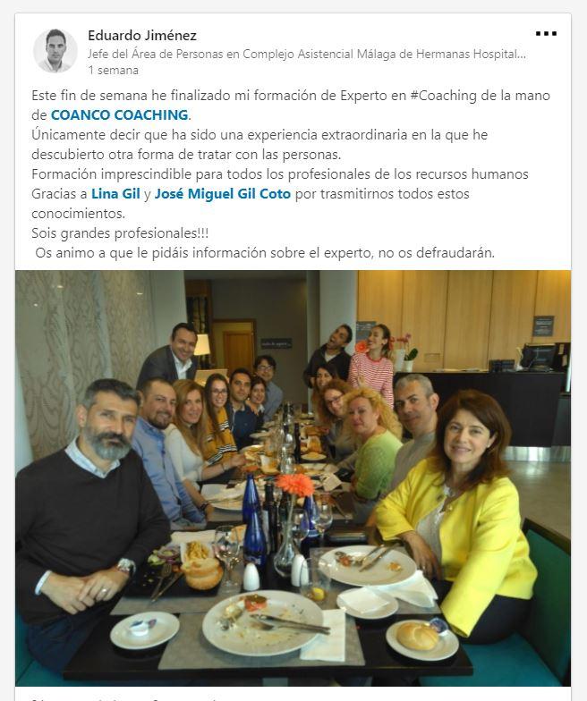 curso de experto en coaching en Málaga